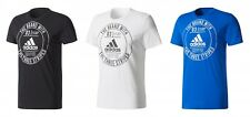 adidas Herren ESS Badge Regular Tee / T-Shirt
