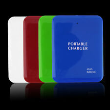 Portable USB 4AA Battery Emergency Charger Power Bank Case For Cell Phone XX