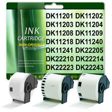 Compatible Brother Thermal Labels DK-11201 11202 11204 11208 11209 22210 22205