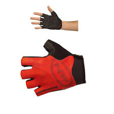 NEW NORTHWAVE FORCE SUMMER CYCLING SHORT FINGER GLOVES MITTS - RED
