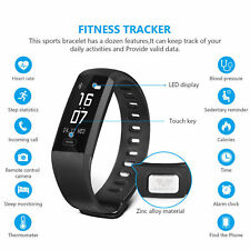 Sports Activity Sleep Tracker Heart Rate Fitness Pedometer Smart Watch Bracelet