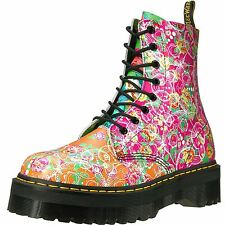 Dr.Martens Jadon Daze Multi Womens Leather Platform Combat Boots