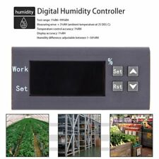 LED Digital Thermostat Temperature Humidity Controller Meter with Sensor P6