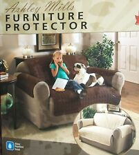1  2  3 Seater Ashley Mills Chocolate Furniture Protector For Sofas