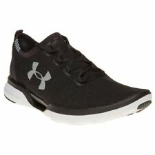 New Mens Under Armour Black Charged Coolswitch Run Nylon Trainers Running Style