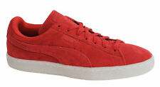 Puma Suede Classic Colored Red Lace Up Leather Mens Trainers 360850 02 M4