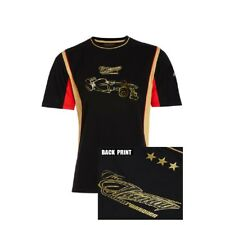 T-SHIRT Adult Formula One 1 Lotus F1 Team NEW! Kimi Raikkonen Lifestyle