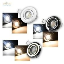 Faretto da incasso set completo, LED incasso, 3 Designs, donwlight
