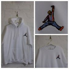 Actual Fact Biggie x Jordan Hip Hop Blanco Sudadera Con Capucha