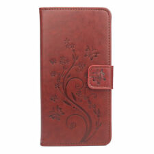 For Blackview BV8000 Pro PU Leather Paint Flower Wallet Stand Case Cover Funda