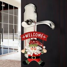 Lovely Santa Claus Door Hanging Christmas Tree Home Decor Ornaments Xmas Gift 1X