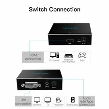 VENTION HDMI To DVI Converter 1080P Audio Converter With Dual Audio Interface HK
