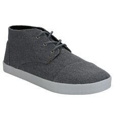 Men's Toms Paseos Mid Farren Pumps In Grey From Get The Label