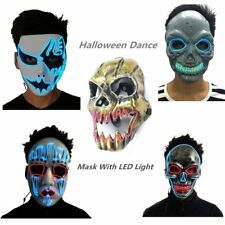 Mask With LED Light For Party Halloween Dance Birthday Party Carnival I5