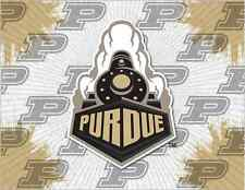 Purdue Boilermakers HBS Gray Gold Wall Canvas Art Picture Print