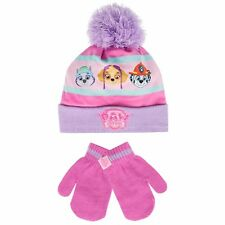 Girls Paw Patrol Winter Set | Paw Patrol Hat and Gloves | Paw Patrol Accesories