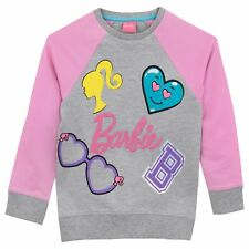 Barbie Sweatshirt | Girls Barbie Sweater | Kids Barbie Jumper | 2 to 10 Years