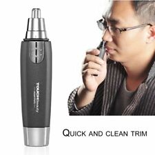 Elecrtric Nose Hair Trimmer Nose Ear Hair Removal Clipper Grooming Men Beauty EW