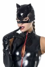 ♥ MASQUE CHAT CATWOMAN VINYLE NOIR STRASS ROUGE ♦ PATRICE CATANZARO TOME 14 ♥
