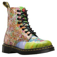 Dr.Martens Pascal Daze 8-Eyelet Multi Womens Lace-up AirWair Printed Ankle Boots