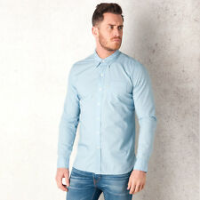 Mens Levi&Apos;S Sunset One Pocket Shirt In Blue-Pocket To Chest-Button Down