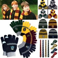 Harry Potter Sciarpa Cravatta Gryffindor Slytherin Hufflepuff Ravenclaw Cosplay