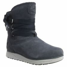 Timberland Leighland Pull on Waterproof Outerspace Womens Suede Mid-calf Boots
