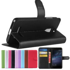 PU Leather Stand Wallet Card Slot Flip Case Cover Skin For Leagoo M5 Edge Phone