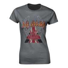 Def Leppard - Rock Of Ages (NEW LADIES T-SHIRT)