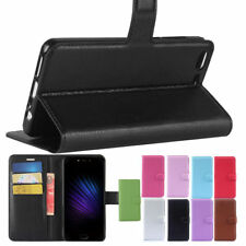 Multi-Color PU Leather Stand Card Slot Flip Case Cover For Leagoo T5 Phone