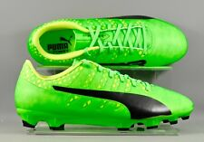 Puma (103964-01) Evopower Vigor 4 AG adults football boots - Green/Yellow