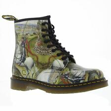 Dr.Martens 1460 8-Eyelet George and Dragon Backhand Multi Womens Boots