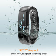 Smart Watch Heart Rate Orologio Bluetooth Pedometro IP67 per Android IOS Phones