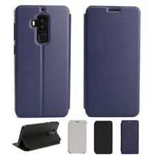 Colorful PU Leather Stand Flip Built-in Case Cover For Homtom S8 Smartphone