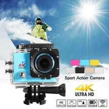 2'' 4K 12MP Ultra HD WiFi DV Acción Cámara Deportiva Doble Pantalla Impermeable