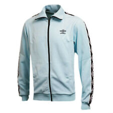 Umbro D Series Mens Adults Zip Track Top Jackets Blue 60741U 78G P2