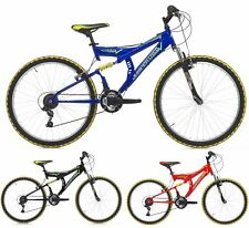 26 VTT Homme Cinzia Shape Shimano 18 Vitesses Velo de Montagne Double Suspension
