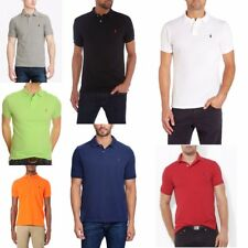 MENS RALPH LAUREN POLO T SHIRT TOP SHORT SLEEVE NEW SIZES S - XXL CUSTOM FIT