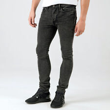 Men's Levis 519 Extreme Skinny Stretch Fit Jeans In Black From Get The Label