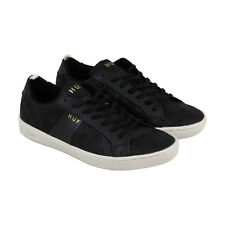 HUF Boyd Mens Black Canvas Lace Up Sneakers Shoes