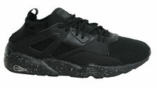Puma Blaze Of Glory Sock Lace Up Black Mens Textile Trainers 362520 01 M12