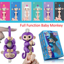2Pcs Interactive Smart Finger Baby Monkey Electronic Induction Gift Kids Pet Toy
