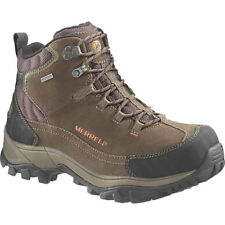 Merrell Norsehund Omega Mid Wtpf Mens Boots Walking Boot - Stone All Sizes