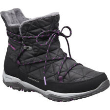 Columbia Loveland Shorty Omniheat Womens Boots - Black Bright Plum All Sizes