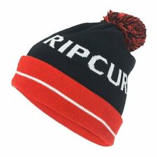 Rip Curl Blinder Mens Headwear Beanie Hat - Red One Size