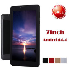 7 PULGADAS TÁCTIL 3g WiFi Quad Core Tablet PC HD 8gb Android 4.4 Bluetooth GPS