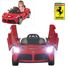 Rastar Ferrari LaFerrari Kids Ride On Car with Remote Controlled 12V Battery Red