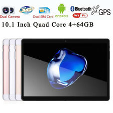 HD 10.1'' Tablet PC WiFi Android 6.0 Octa Core 4 + 64gr 10.1 PULGADAS 2SIM 4g
