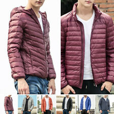 NEW Winter Mens Ultralight Hoody Hooded/Collar 90Down Jacket Warm Puffer Coat