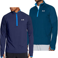 Under Armour UA Mens No Breaks Run 1/4 Zip Long Sleeve Running Top